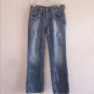 Men's MEK Denim Cairo Straight Button Fly Jeans 30